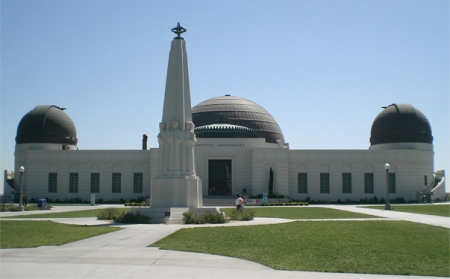 Front view of the Observatory